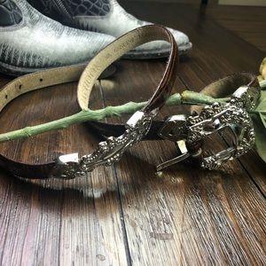 J. G. Hook. Genuine Leather Belt